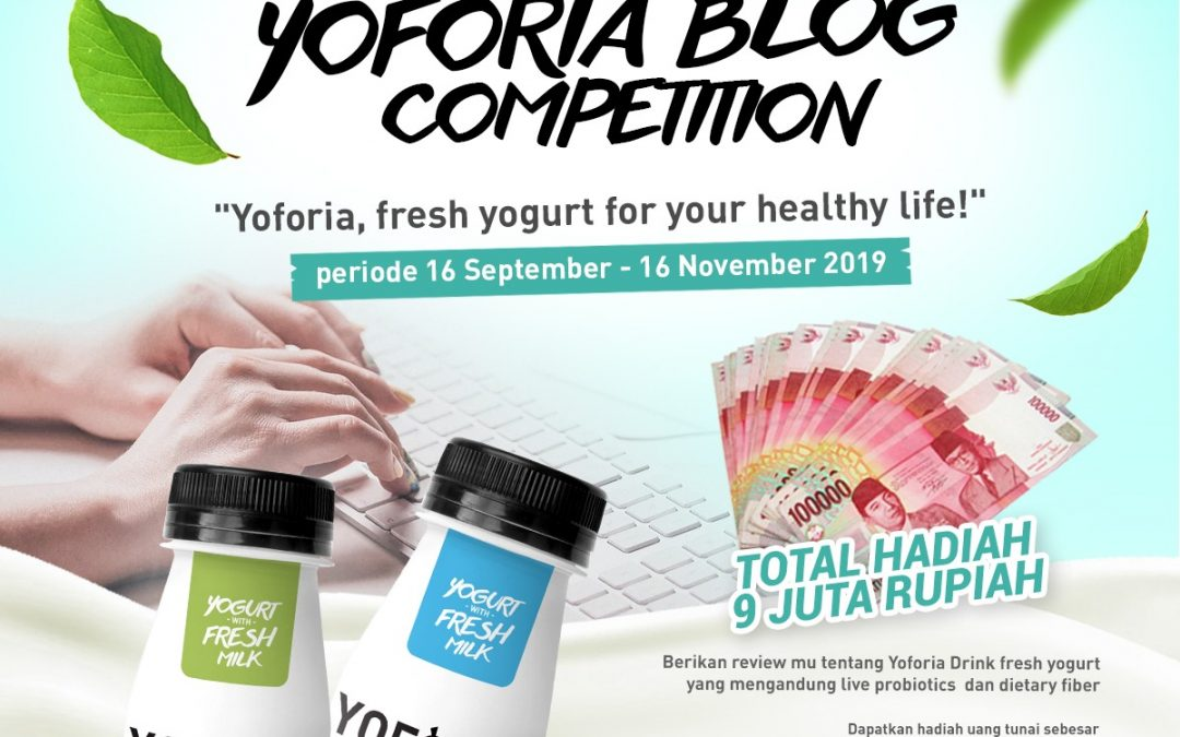 Yoforia Blog Competition 2019